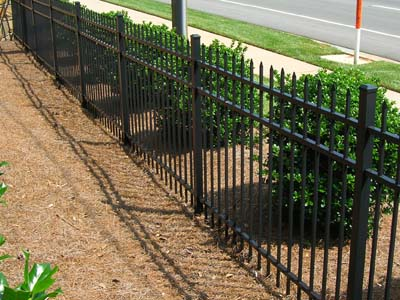 Pre Built Aluminum Fence Panels Spear Top